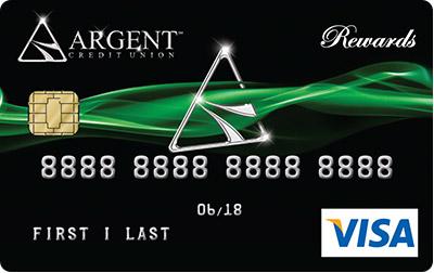 Argent's VISA® Platinum Rewards Card