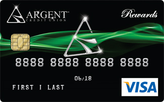 Argents Rewards Card 325