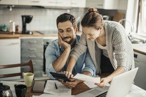 Couple explores their finances
